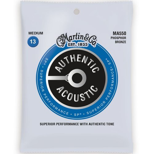 Martin Strings Martin Authentic Acoustic Strings SP Medium 0.13-0.56 MA550