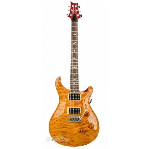 Paul Reed Smith PRS Custom 24 10 Top Quilted Maple Vintage Yellow 2007