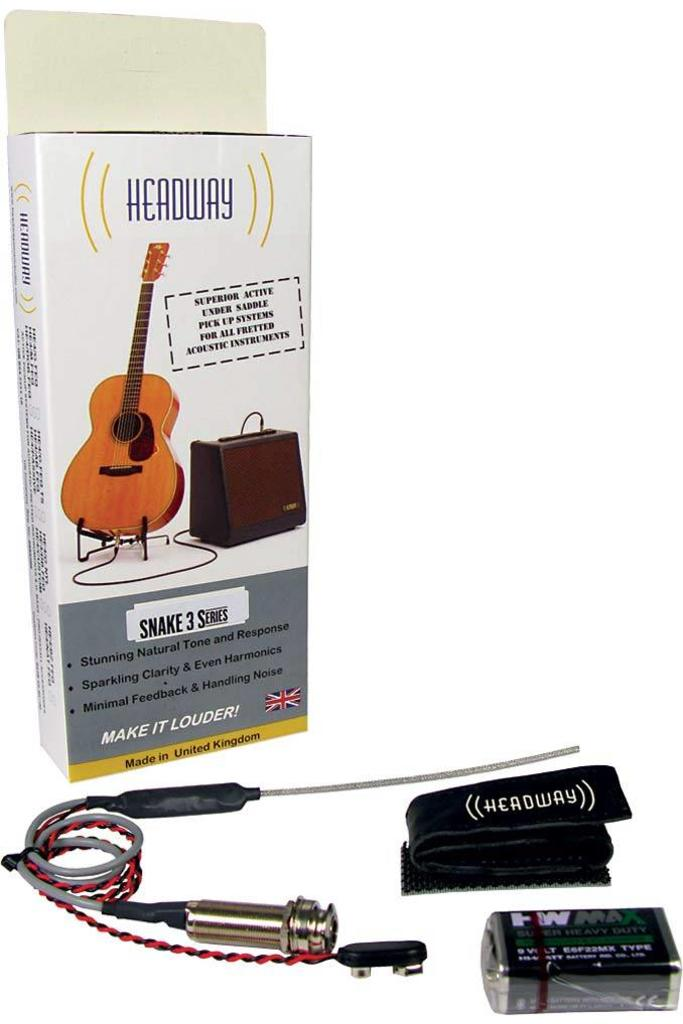 Headway Snake 3 AG Acoustic Guitar Pickup