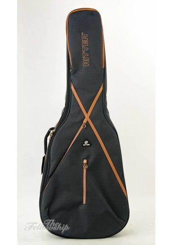 Ritter Ritter RGS7 Mistey Grey Leather Brown Gigbag Dreadnought