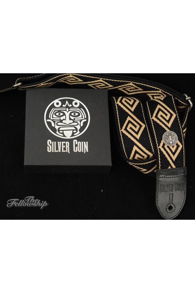Silver Coin Atlacoya Guitar Strap