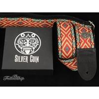 Silver Coin Huracan Guitar Strap