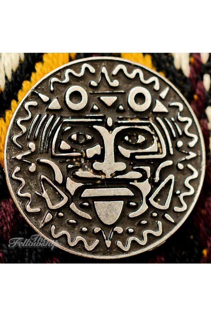 Silver Coin Ekkeko Guitar Strap