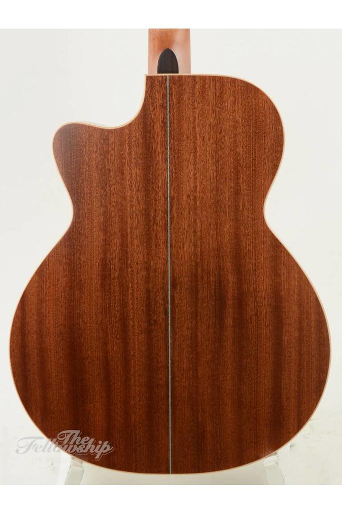 BSG GA10CF Cutaway Cedar Mahogany Ebony Fretboard