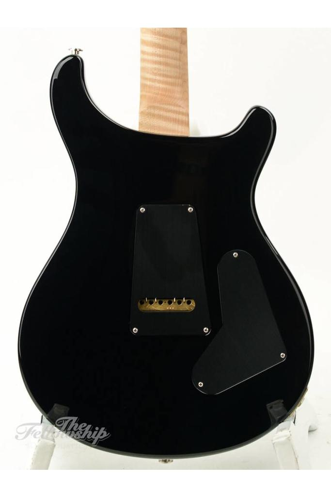 PRS Custom 24 Limited Lefty Charcoal Burst 10 Top