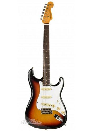 Fender Custom Fender Custom Shop Flash Coat 60s Stratocaster 3 Tone Sunburst