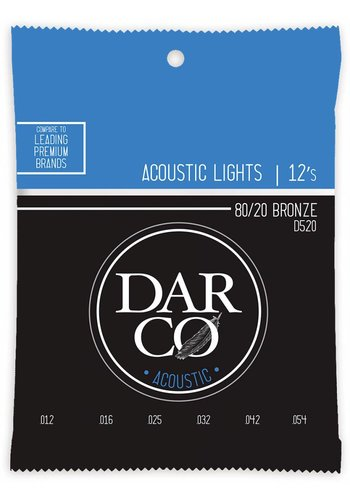 Darco Darco D520 Phosphor Bronze Light 12-54