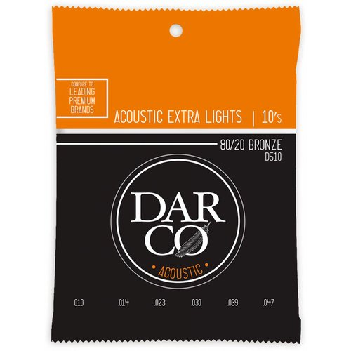 Darco Darco D510 80/20 Bronze Extra Lights 10-47