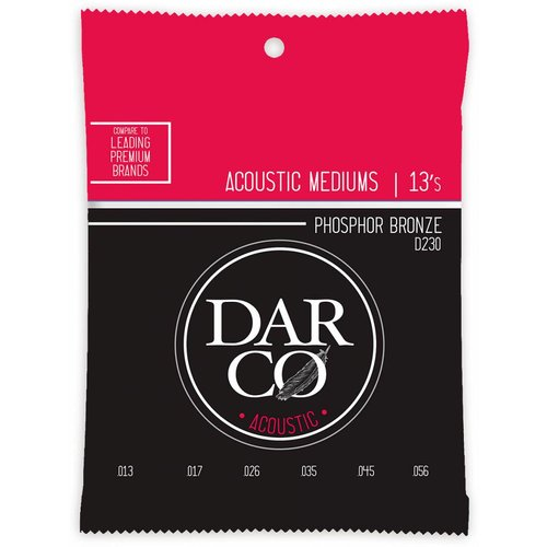 Darco Darco D230 Medium Phosphor Bronze 13-56