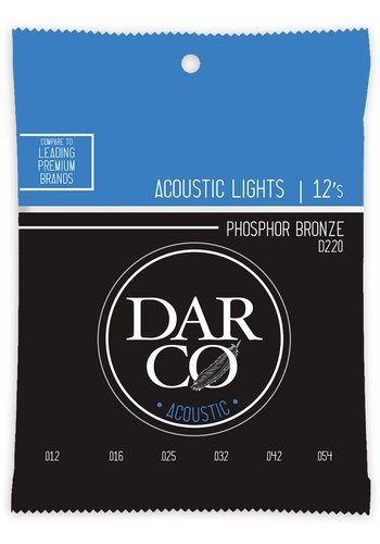 Darco Darco D220 Lights Phosphor Bronze 12-54