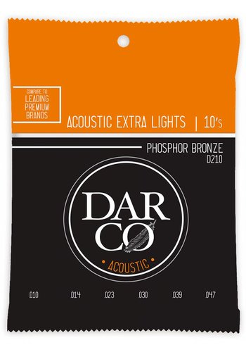 Darco Darco D210 Extra Light Phosphor Bronze 10-47