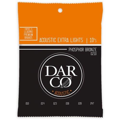 Darco Darco D210 Extra Light Phosphor Bronze 10-47