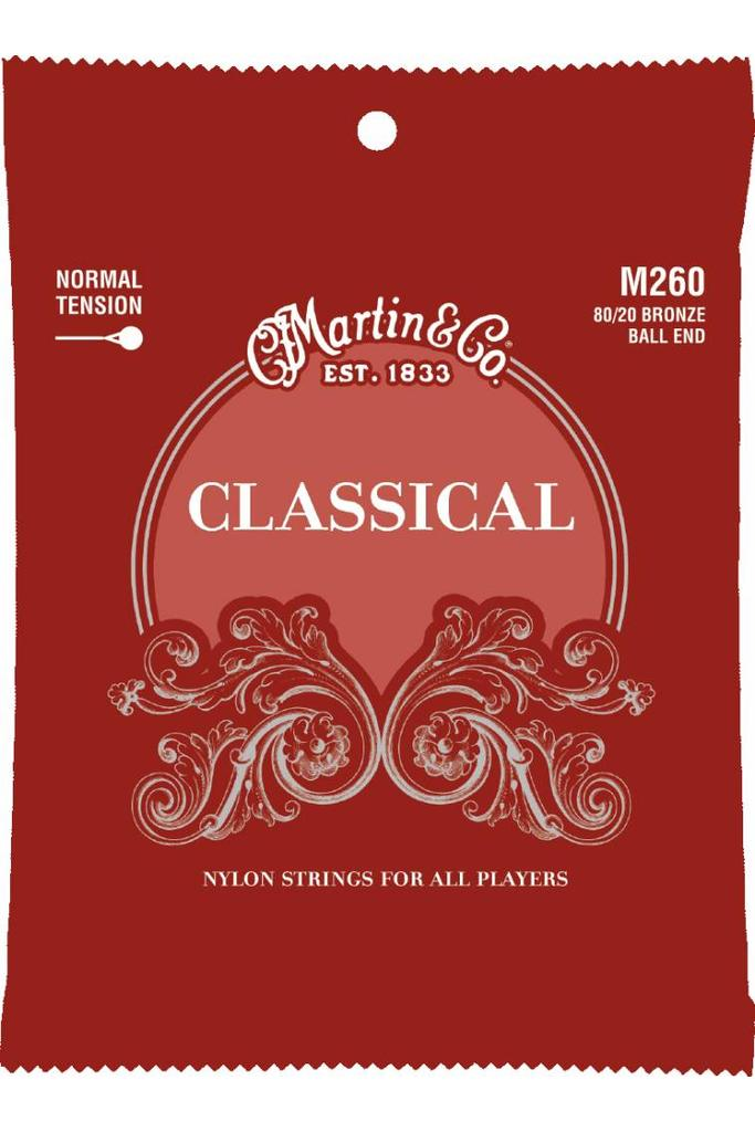Martin M260 80/20 Bronze Ball End Classical Normal Tension