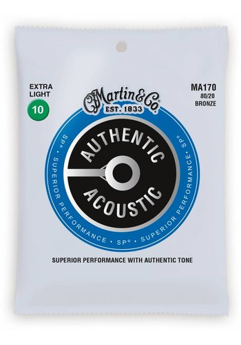Martin Strings Martin MA170 Authentic SP 80/20 Bronze Extra Light 10-47