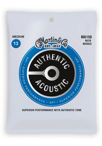 Martin Strings Martin MA150 Authentic 80/20 Bronze Medium 13-56