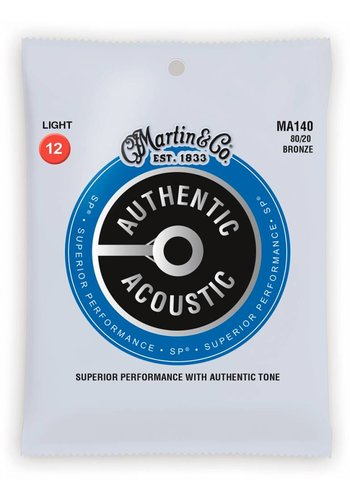 Martin Strings Martin MA140 Authentic 80/20 Bronze Light 12-55