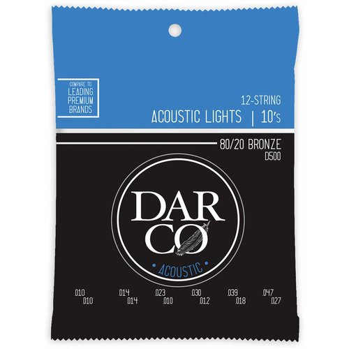 Darco Darco D500 12-String 80/20 Bronze 10-47