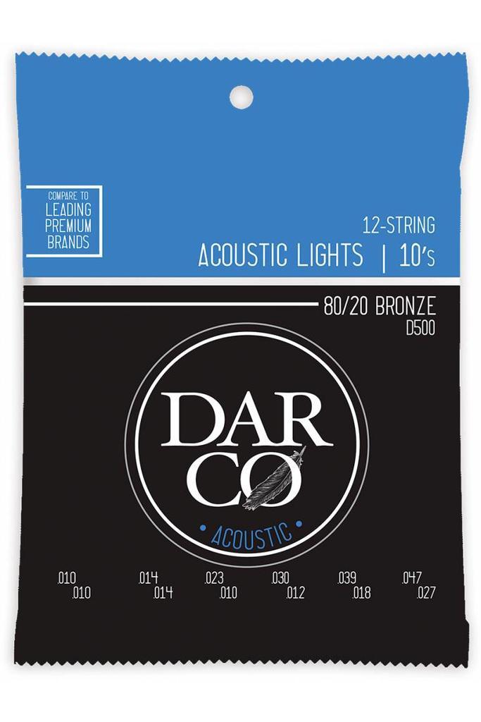 Darco D500 12-String 80/20 Bronze 10-47