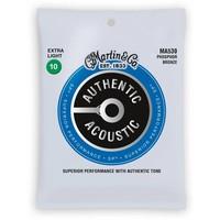 Martin MA530 Authentic Phosphor Bronze Extra Light 10-47