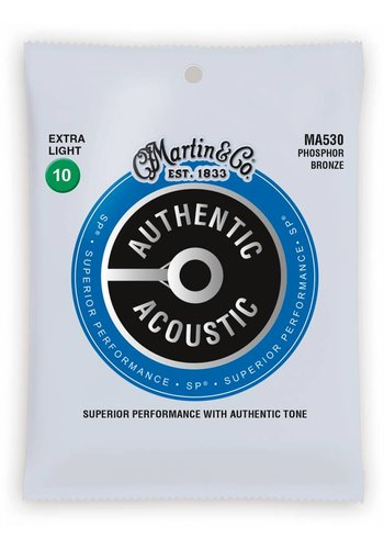Martin Strings Martin MA530 Authentic Phosphor Bronze Extra Light 10-47