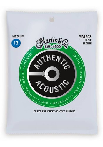 Martin Strings Martin MA150S Authentic Silked 80/20 Bronze Medium 13-56