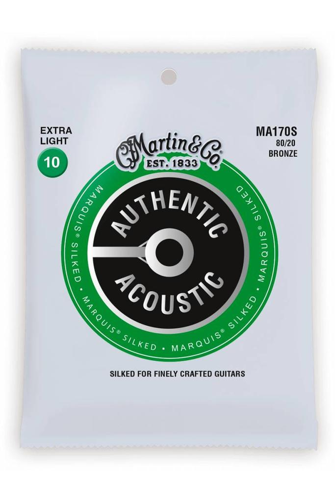 Martin MA170S Authentic Silked 80/20 Bronze Extra Light 10-47