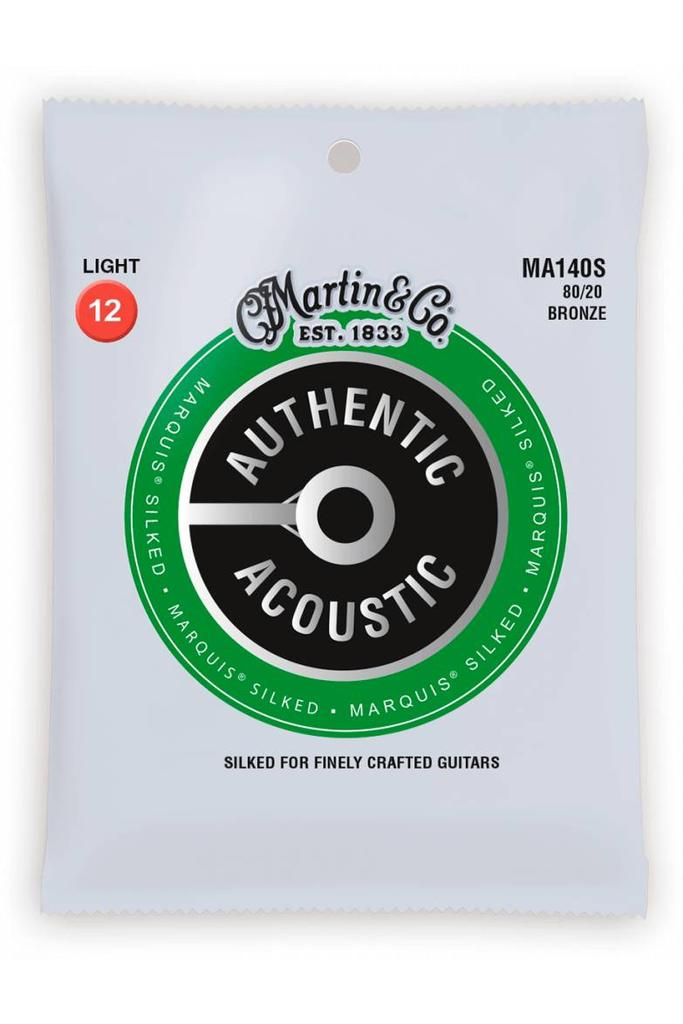 Martin MA140S Authentic Silked 80/20 Bronze Light 12-54