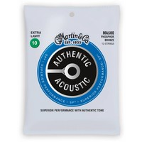 Martin MA500 Authentic 12-String Phosphor Bronze Extra Light 10-47