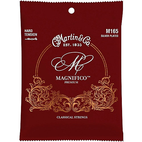 Martin Strings Martin M165 Magnifico Silver Plated Hard Tension