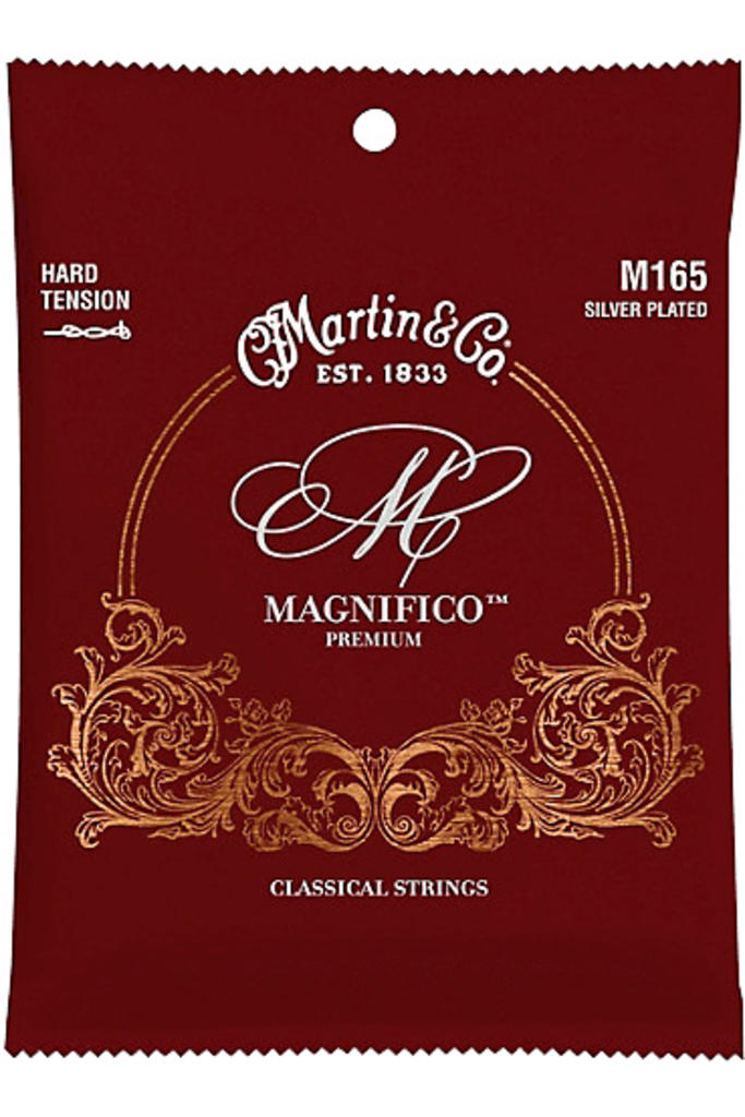 Martin M165 Magnifico Silver Plated Hard Tension