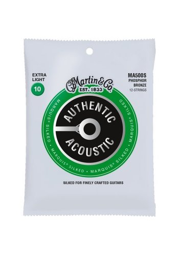 Martin Strings Martin MA500S Authentic Silked Phosphor Bronze 12-String 10-47