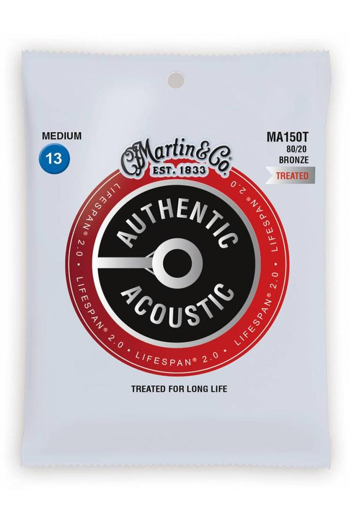Martin MA150T Authentic Treated 80/20 Bronze Medium 13-56