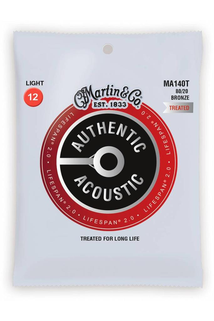Martin MA140T Authentic Treated 80/20 Bronze Light 12-54