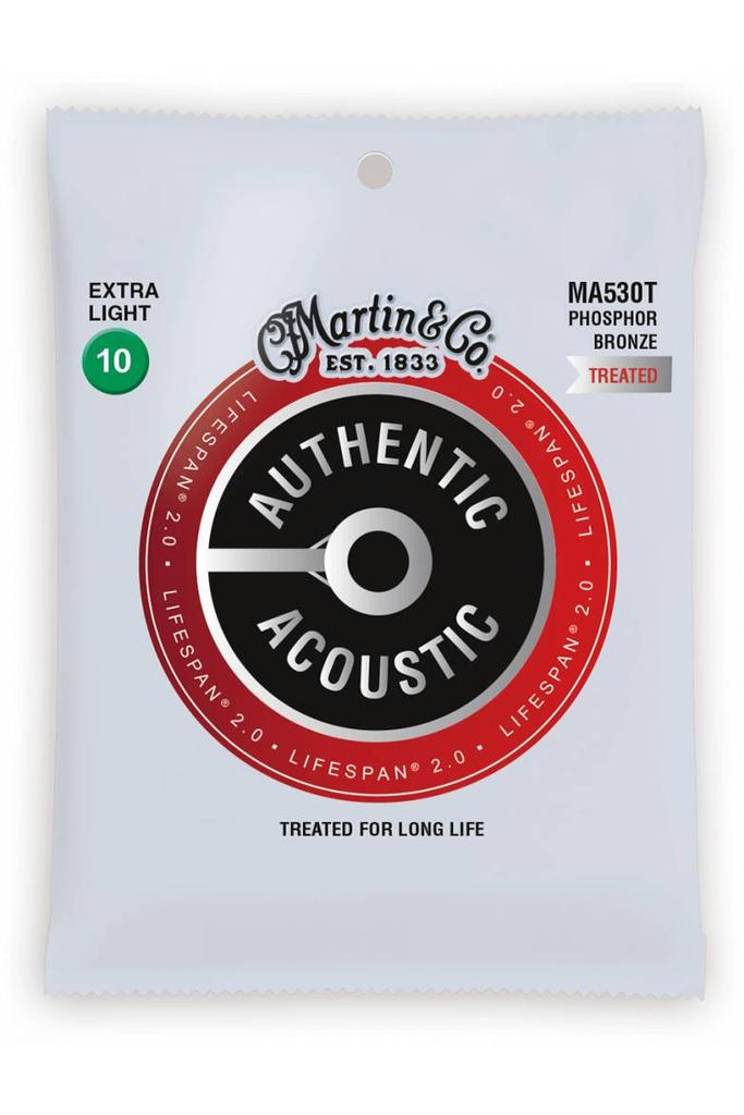 Martin MA530T Authentic Treated Phosphor Bronze Extra Light 10-47