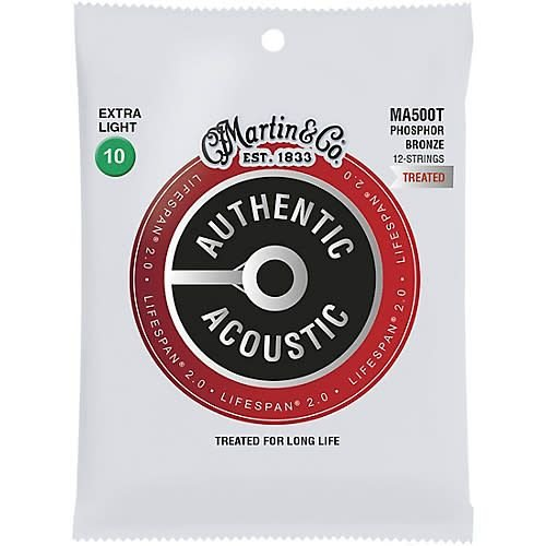 Martin Strings Martin Strings MA500T Treated Phosphor Bronze 12-String Extra Light 10-47