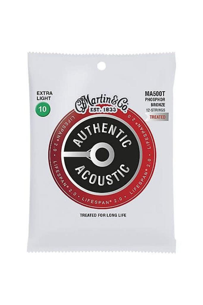 Martin Strings MA500T Treated Phosphor Bronze 12-String Extra Light 10-47