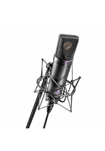 Neumann Neumann U 87 AI Microphone Set w/ Shockmount - Matte Black USED MINT