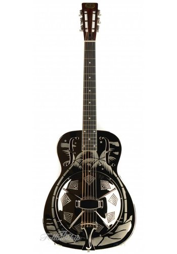 Royall Royall Silver Palmulator Engraved Brass Body Resonator