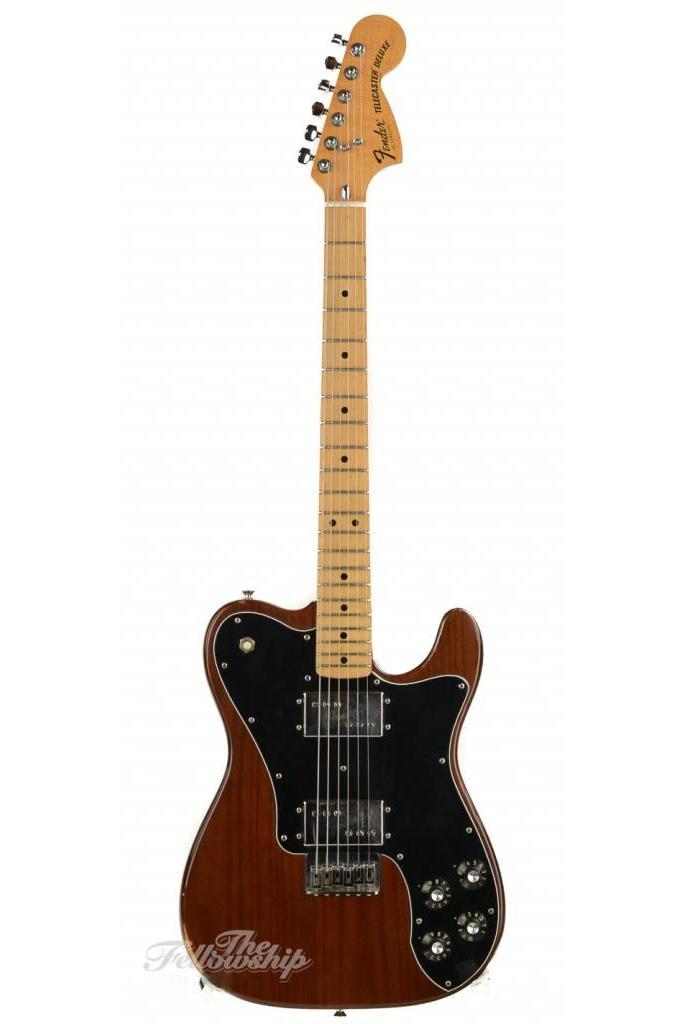 Fender Telecaster Deluxe Moccha Brown 1977