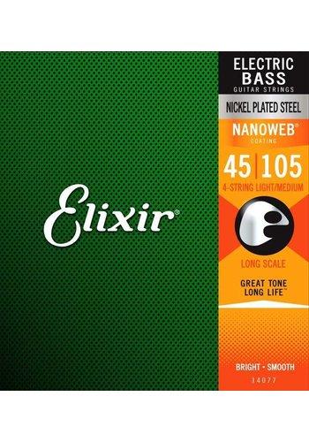 Elixir Elixir 14077 Electric Bass NPS Nanoweb Light-Medium 45-105