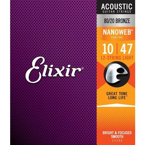 Elixir Elixir 11152 Nanoweb 12 String