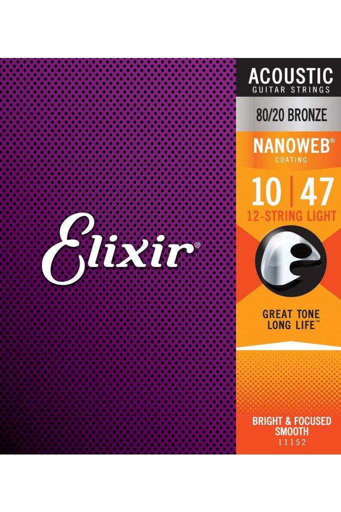 Elixir 11152 Nanoweb 12 String