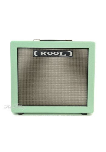 Kool Amplification Kool Amplification Open Back 1x12 Surf Green Speaker Cabinet