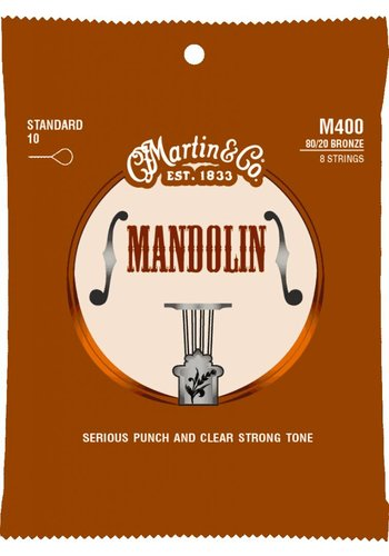 Martin Strings Martin M400 Mandoline Strings Light .10