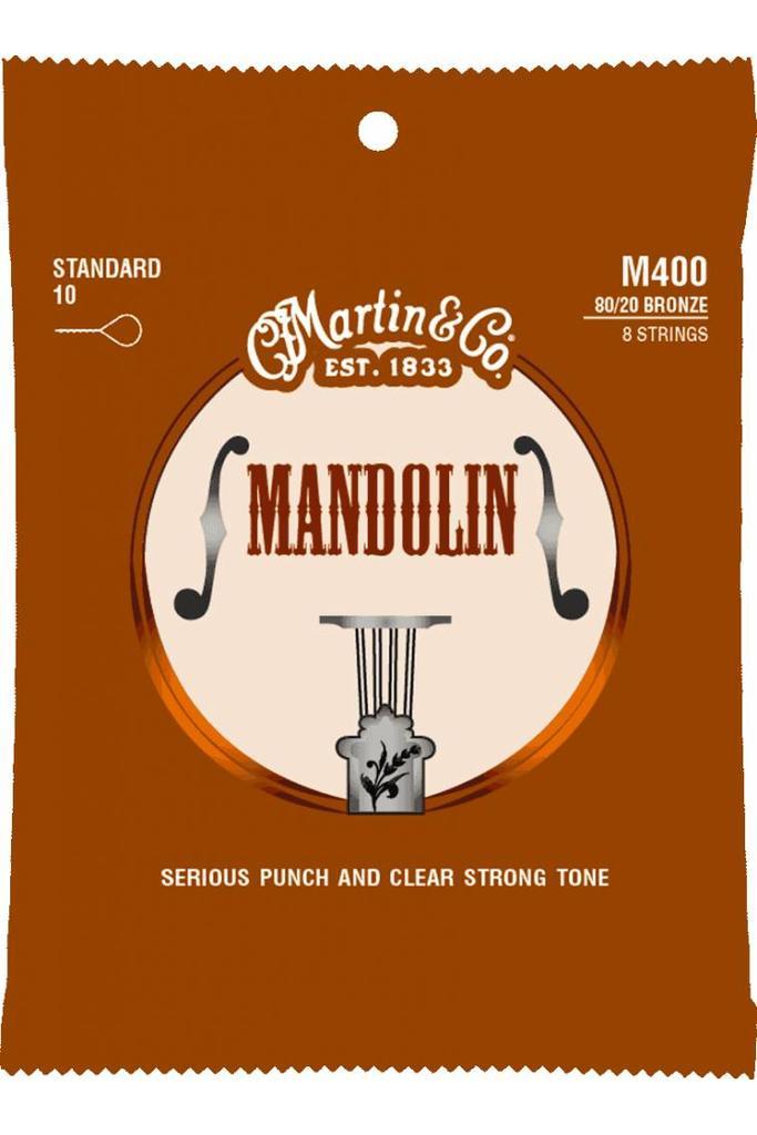 Martin M400 Mandoline Strings Light .10