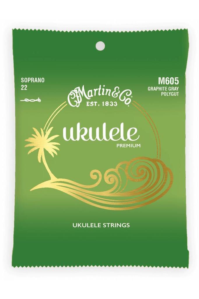 Martin M605 Soprano Premium Ukulele Strings