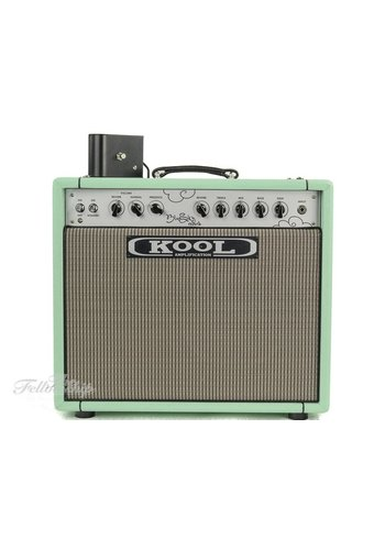 Kool Amplification Kool Amplification Blue Sky Reverb 35 Surf Green Combo