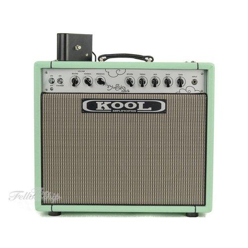 Kool Amplification Kool Amplification Blue Sky Reverb 35 Surf Green Combo