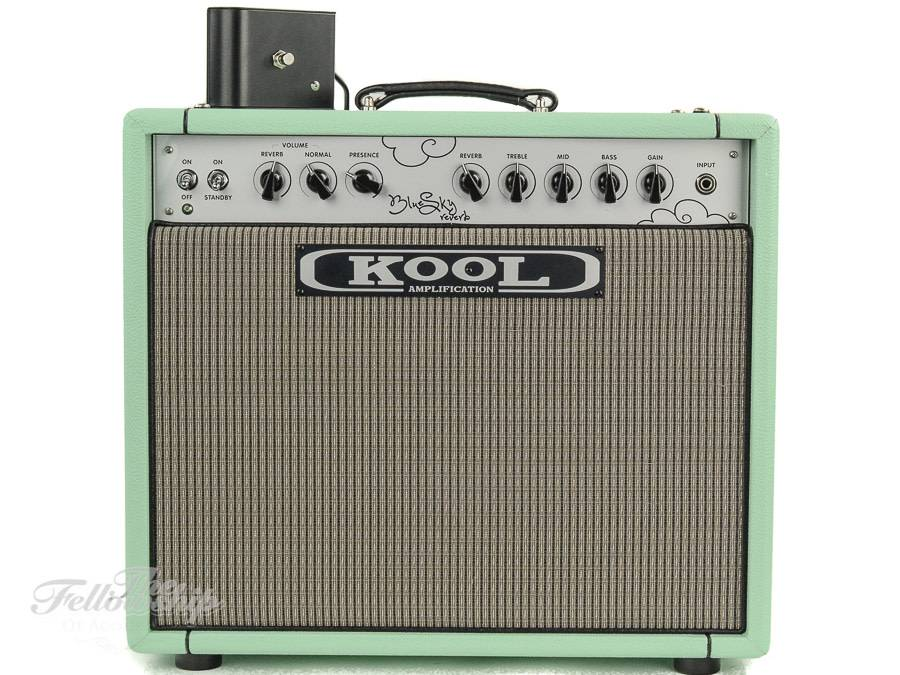 Kool Amplification Blue Sky Reverb 35 Surf Green Combo