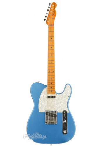 Fender Partscaster T-style Lake Placid Blue Maple Neck Relic
